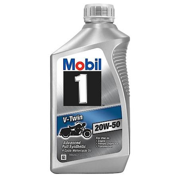 Mobil 1 V Twin 20W-50